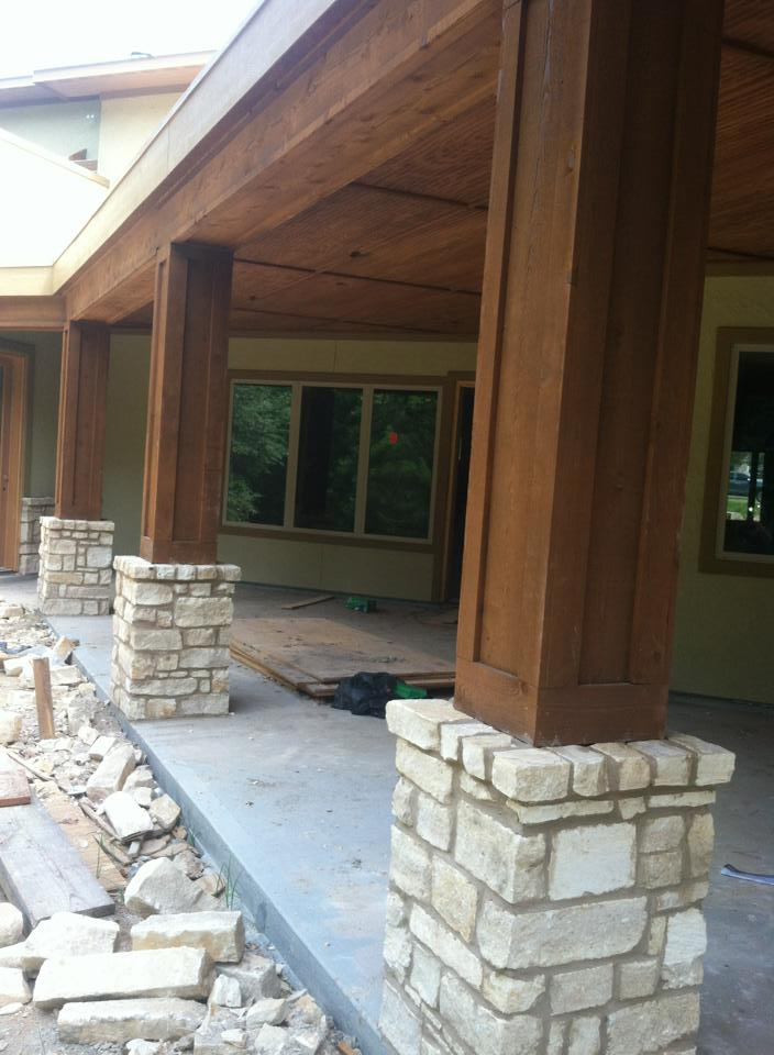 Photos for Stucco columns